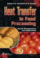 Cover image for Heat Transfer in Food Processing : Recent Developments and Applications