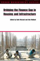 Cover image for Bridging the finance gap in housing and infrastructure