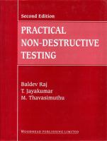 Cover image for Practical non-destructive testing