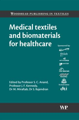 Cover image for Medical textiles and biomaterials for healthcare : incorporating  proceedings of MEDTEX03 International Conference and Exhibition on  Healthcare and Medical Textiles
