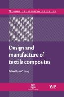 Cover image for Design and manufacture of textile composites