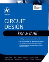Cover image for Circuit design
