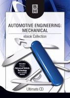Cover image for Automotive engineering mechanical