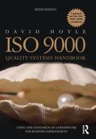 Cover image for ISO 9000 quality systems handbook - updated for the ISO 9001:2008 standard : using the standards as a framework for business improvement