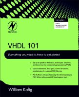 Cover image for VHDL 101 : everything you need to know to get started