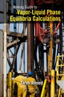 Cover image for Working guide to vapor-liquid phase equilibria calculations