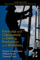 Cover image for Formulas and calculations for drilling, production and workover