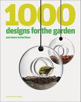 Cover image for 1000 designs for the garden : and where to find them