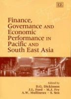 Cover image for Finance, governance and economic performance in Pacific and South East Asia