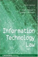 Cover image for Information technology law