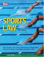 Cover image for Sports law
