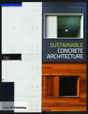 Cover image for Sustainable concrete architecture