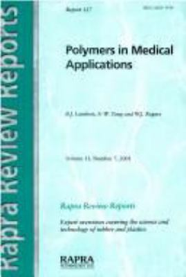 Cover image for Polymers in medical applications