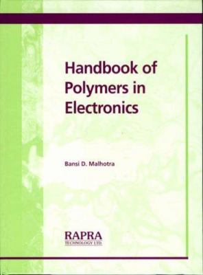 Cover image for Handbook of polymers in electronics