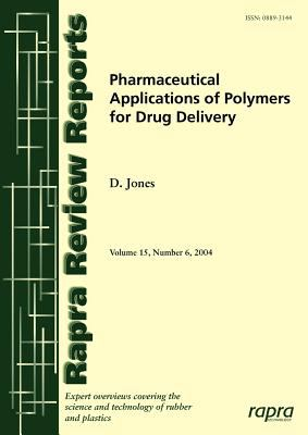 Cover image for Pharmaceutical applications of polymers for drug delivery