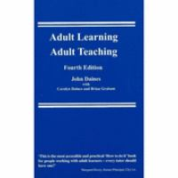 Cover image for Adult learning, adult teaching