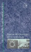 Cover image for Power generation by renewables