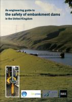 Cover image for An engineering guide to the safety of embankment dams in the United Kingdom
