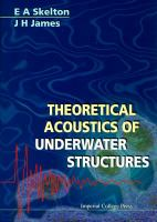 Cover image for Theoretical acoustics of underwater structures