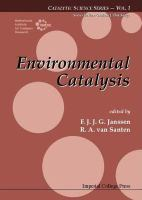 Cover image for Environmental catalysis
