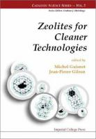 Cover image for Zeolites for cleaner technologies