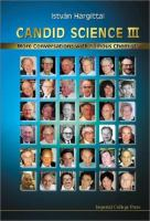 Cover image for Candid science III : more converstations with famous chemists