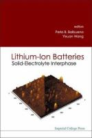 Cover image for Lithium-ion batteries : solid-electrolyte interphase