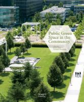 Cover image for GREEN SPACE IN THE COMMUNITY