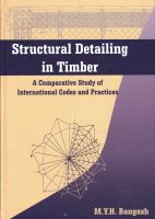 Cover image for Structural detailing in timber : a comparative study of international codes and practices