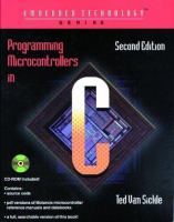 Cover image for Programming microcontrollers in C