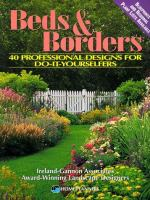 Cover image for Beds & borders : 40 professional designs for do-it-yourselfers