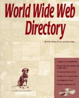 Cover image for World wide web directory