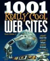 Cover image for 1001 really cool web sites