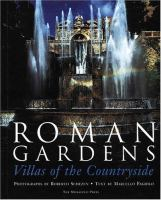 Cover image for Roman gardens : villas of the countryside