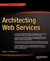Cover image for Architecting web services