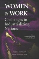 Cover image for Women and work : challenges in industrializing nations