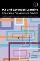 Cover image for ICT and language learning : integrating pedagogy and practice
