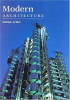 Cover image for Modern architecture