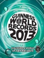 Cover image for Guinness world records 2013