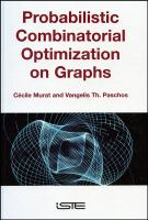 Cover image for Probabilistic combinatorial optimization on graphs