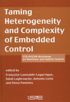 Cover image for Taming heterogenity and complexity of embedded control