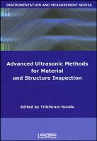 Cover image for Advanced ultrasonic methods for material and structure inspection