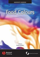 Cover image for Food colours
