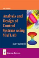 Cover image for Analysis and design of control systems using MATLAB