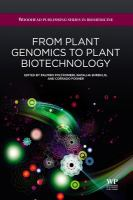 Cover image for From plant genomics to plant biotechnology