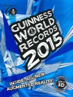 Cover image for Guinness world records 2015