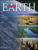 Cover image for The world atlas earth concise