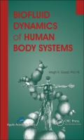 Cover image for Biofluid dynamics of human body systems