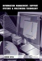 Cover image for Information management : support systems & multimedia technology