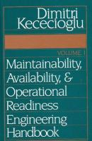 Cover image for Maintainability, availability, and operational readiness engineering handbook